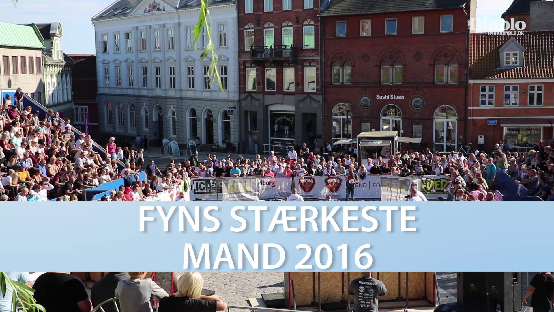 Fyns Starkeste Mand 2016