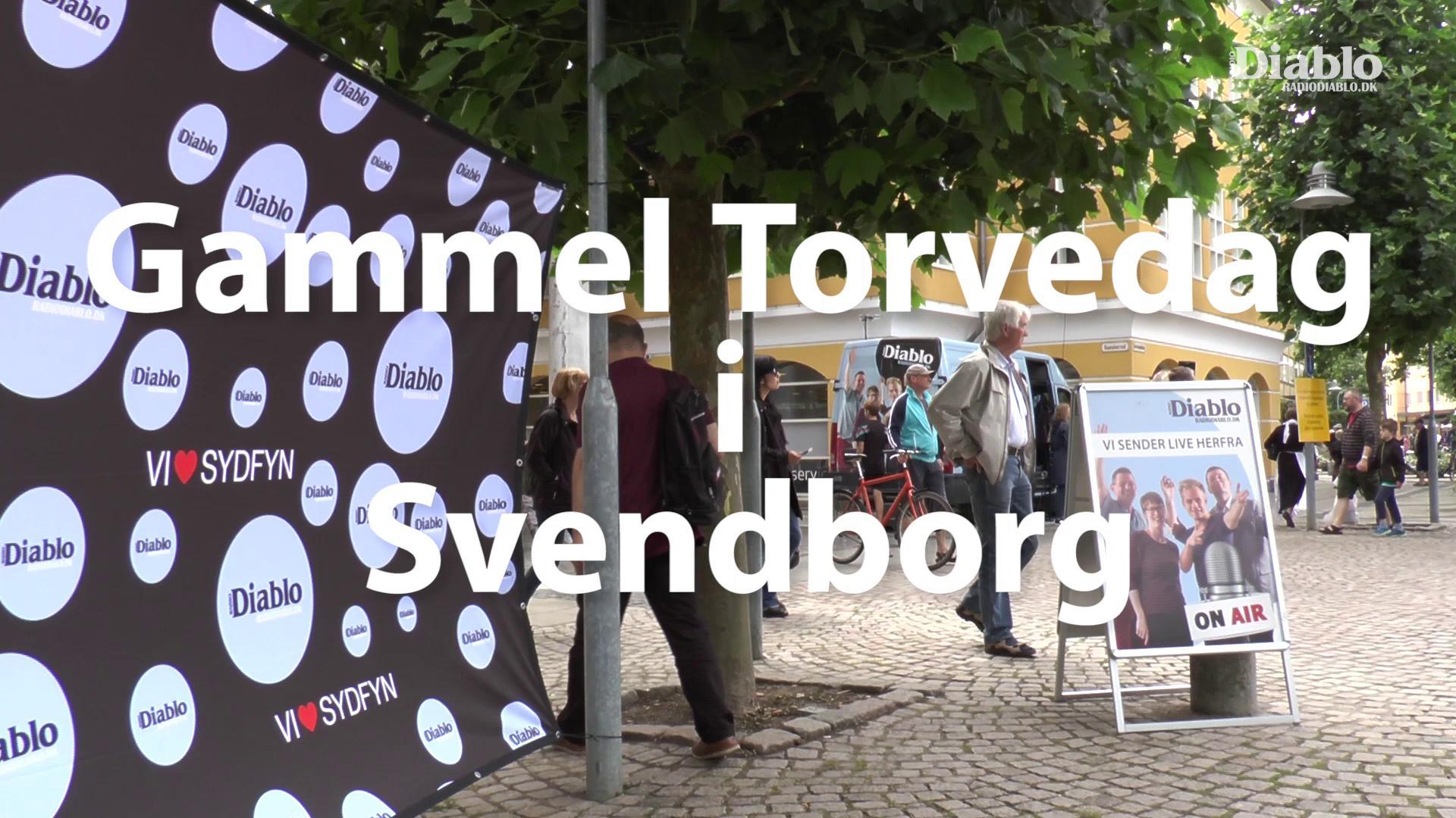 Kommerciel Reportagefilm fra Gammel Torvedag i Svendborg