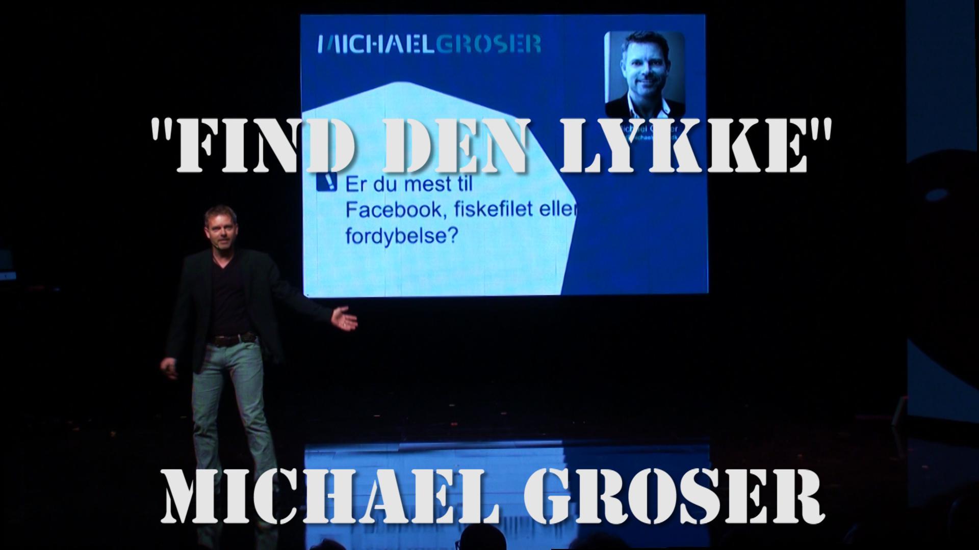 Michael Groser Promotion