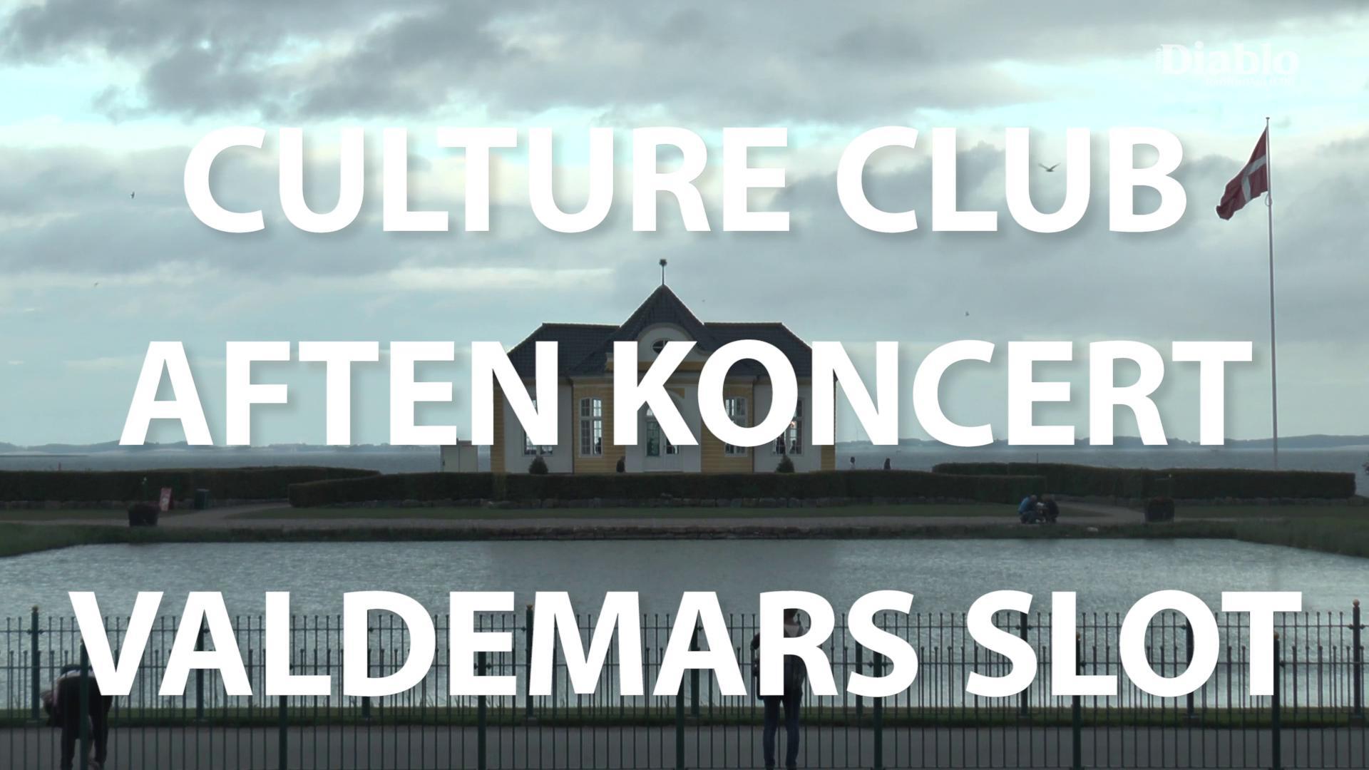 Kommerciel Reportagefilm fra Aften koncert på Valdemars Slot